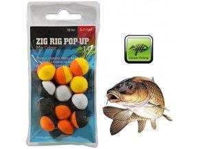 Giants Fishing pěnové plovoucí boilie Zig Rig Pop-Up Mix Colour - 12 ks
