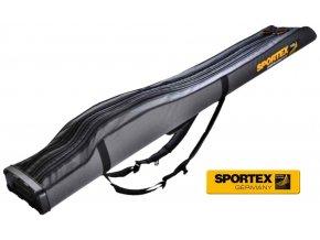 Obal na pruty Sportex Rod bag Super Safe III tříkomorový
