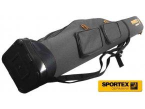 Obal na pruty Sportex Rod bag Super Safe V dvoukomorový