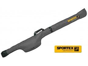 Obal na pruty Sportex Single sleeve for Carp Rods X jednokomorový