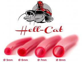 Hell-Cat silikonová hadička 1 m