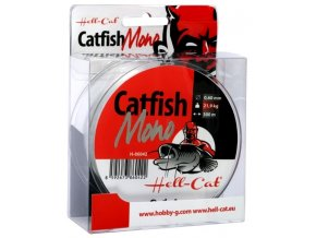 Hell-Cat vlasec Catfish Mono Clear 300 m
