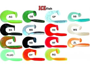 ICE Fish twister Monstertail 9 cm
