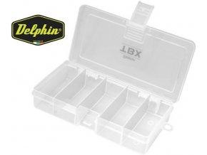 Krabička Delphin TBX One 162-5P - 162 x 86 x 35 mm