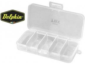 Krabička Delphin TBX One 132-5P - 132 x 65 x 25 mm