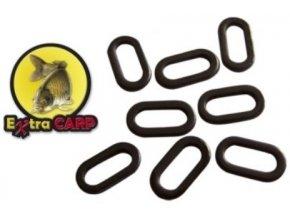 Extra Carp oválné kroužky Oval Rig Rings 4,5 mm - 20 ks