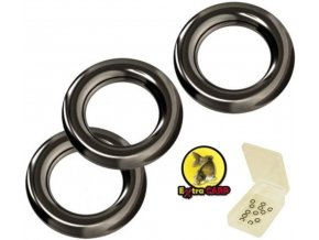 Extra Carp kroužky na háčky Round Rig Rings - 20 ks
