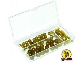 Extra Carp Rubber Beads Set gumové korálky - 100 ks