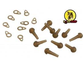Extra Carp závěsky na olovo Safety Sleeve With Ring - 10 ks
