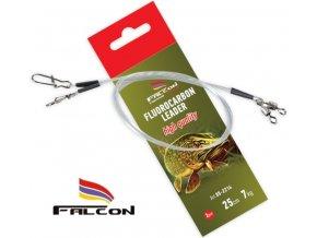 Falcon návazec na dravce Fluorocarbon Leader 25 cm - 2 ks