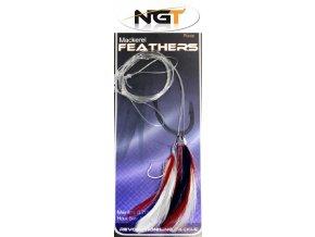 NGT mořský návazec Mackerel Feathers Rig