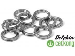 Delphin pevnostní kroužky Catkong - 10 ks