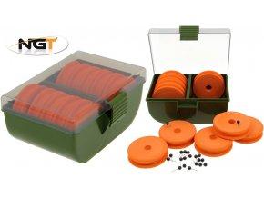 NGT zásobník na návazce Chod & Zig Rig Box