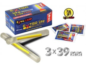 Extra Carp Lite Starlight svítící ampule 3 x 39 mm