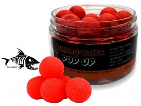 Tuning Baits plovoucí boilies Pop Up Jahoda 50g