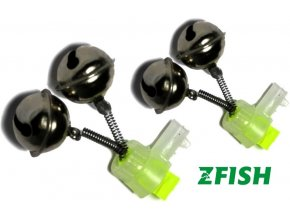 Zfish rolnička dvojitá Double Bell Light Clip - 2 ks
