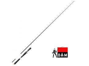 Přívlačový prut DAM Cultus Baitcast Spin 210 cm/50-150 g