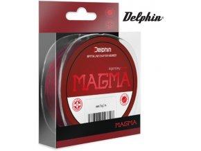 Rybářský vlasec Delphin Monofil MAGMA / bordový