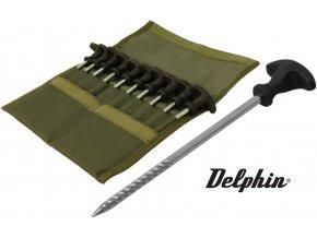 Sada stanových kolíků Delphin KL Set 10 ks