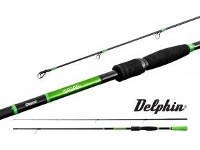 Prut Delphin WASABI Spin 2 díly - 180, 210, 240 cm