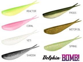 Delphin umělá nástraha BOMB! D SHOT 8,5 cm