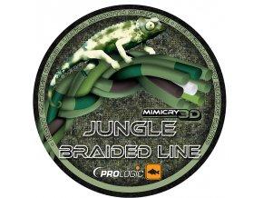 Pletená šnůra Prologic Mimicry Jungle Braided Line 1 m