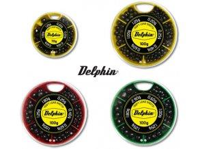 Rybářské vyvažovací olůvka Delphin SOFT