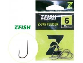 Zfish háčky Feeder Hooks Z-375 - 10 ks
