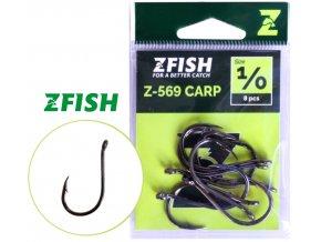 Zfish háčky Carp Hooks Z-569 - 10 ks