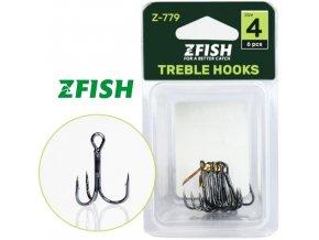 Zfish trojháčky Treble Hooks Z-779