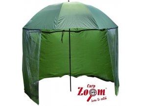 Carp Zoom rybářský deštník s bočnicí - model 2012