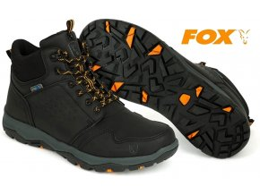 Boty FOX Collection Black/Orange Mid Boot