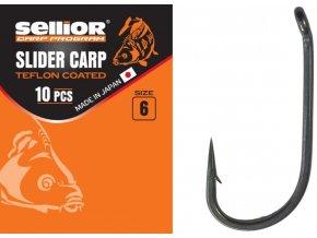 Háčky Sellior Slider Carp Teflon Coated 10 ks