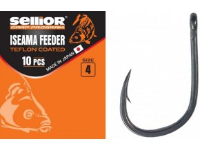Háčky Sellior Iseama Feeder Teflon Coated 10 ks
