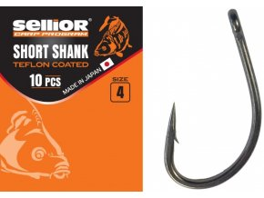 Háčky Sellior Short Shank Teflon Coated 10 ks