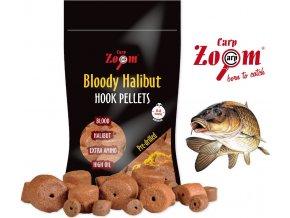 Carp Zoom pelety Bloody Halibut Hook Pellets 150 g