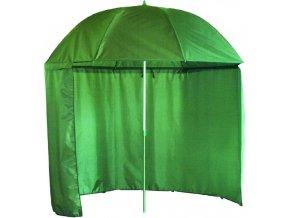 Carp System rybářský deštník s bočnicí Nylon 250 cm