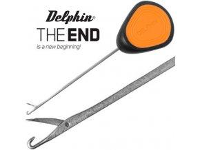 Jehla na boilies Delphin THE END GRIP Medium