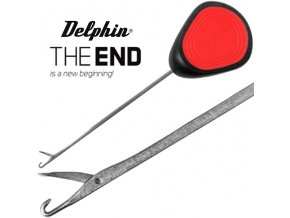 Jehla na boilies Delphin THE END GRIP Strong