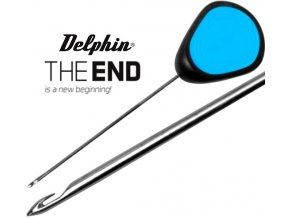 Jehla na nástrahy Delphin THE END GRIP Safety