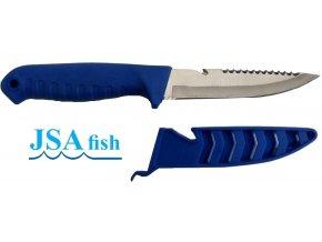 JSA Fish rybářský nůž se škrabkou na ryby