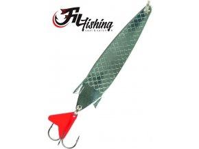 Filfishing Filex třpytka plandavka Arrow Spoon stříbrná