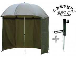 Esox deštník s bočnicí Carpers Tanker Umbrella 250