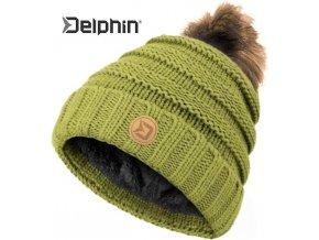 Zimní čepice Delphin FolkSCHOOL