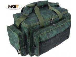 NGT rybářská taška Insulated Carryall Dapple Camo 709