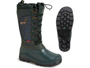 Zimní lovecké boty Hunter PRO 3811 zelené