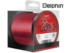 Vlasec Delphin RODEO červený 1 m