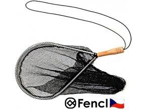 Fencl muškařský podběrák Raketa s gumovou smyčkou