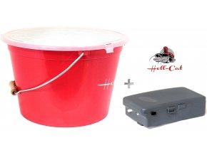 Hell Cat řízkovnice s víkem 25 litrů + vzduchování