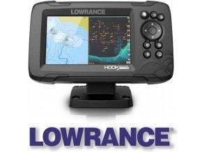 Lowrance echolot HOOK REVEAL 5 se sondou HDI 50/200 kHz